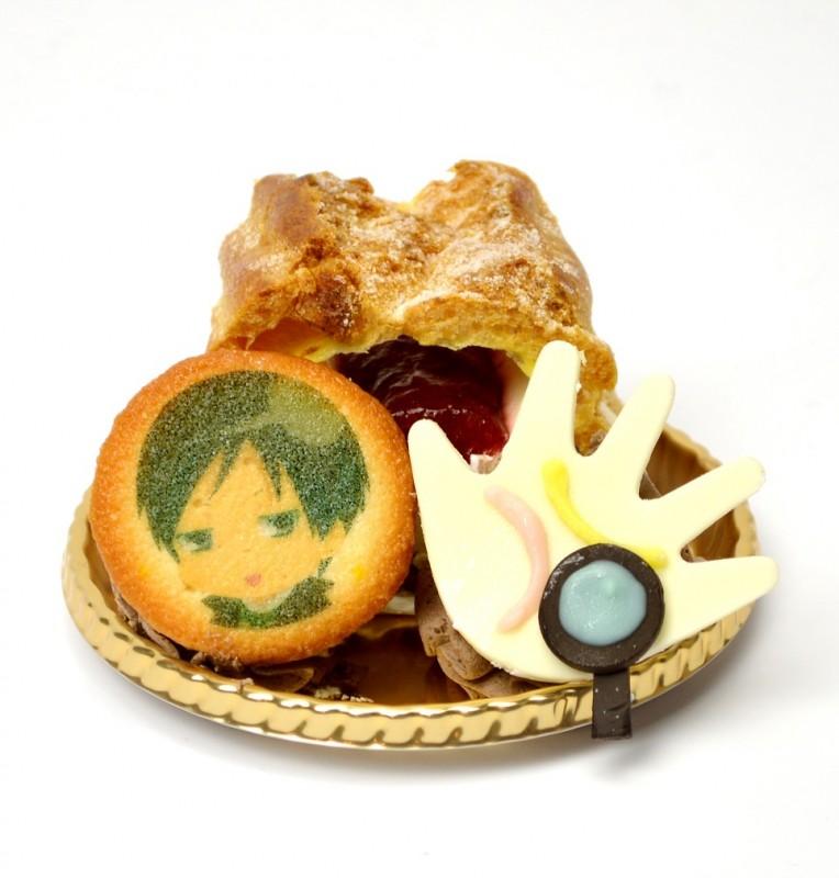 森山からの手相苺シュークリーム(740円)